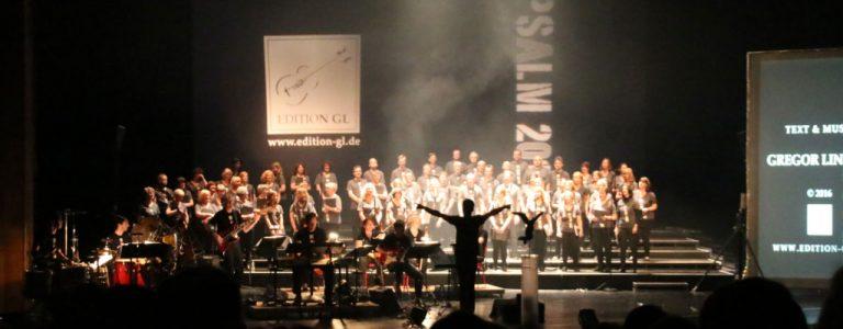 Psalm2016 Uraufführung Applaus