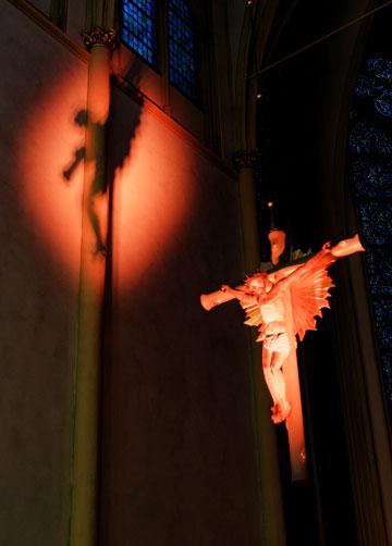 St. Servatius Siegburg, Illumination von Gregor Linßen
