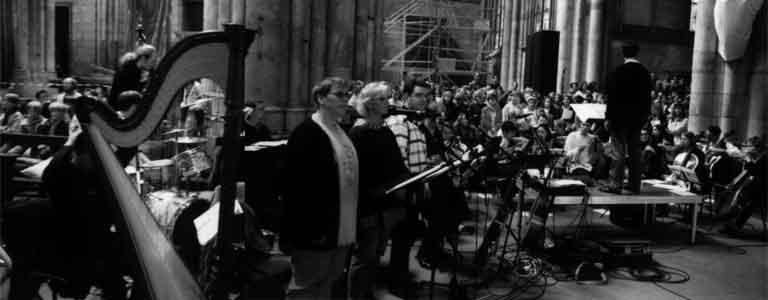 Aufführung am 21.6.1997 im Kölner Dom mit einem 250 köpfigen Chor