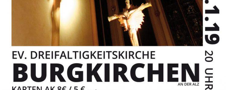 KInder des LIchts, Burgkirchen, Konzert-Plakat
